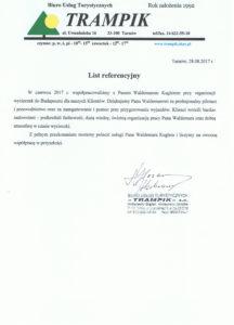 Trampik - referencje