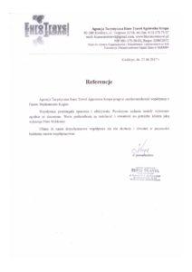 EuroTravel - referencje